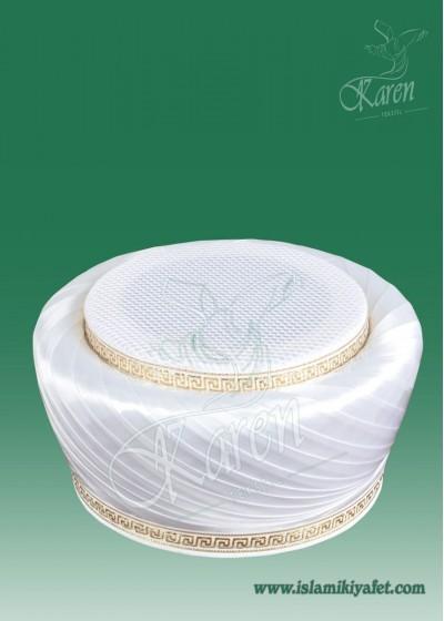 Beyaz Fileli Sarık