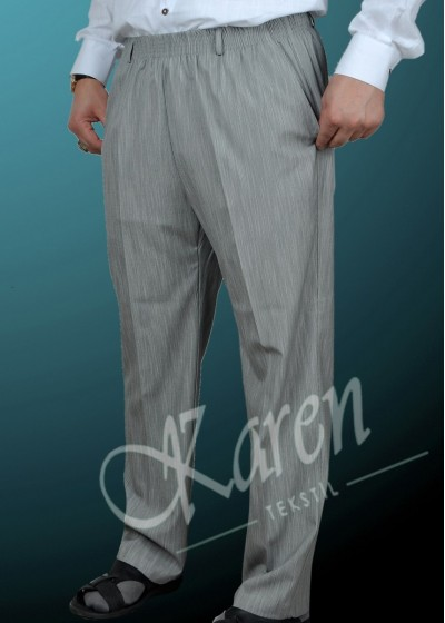 Şalvar Pantolon Gri
