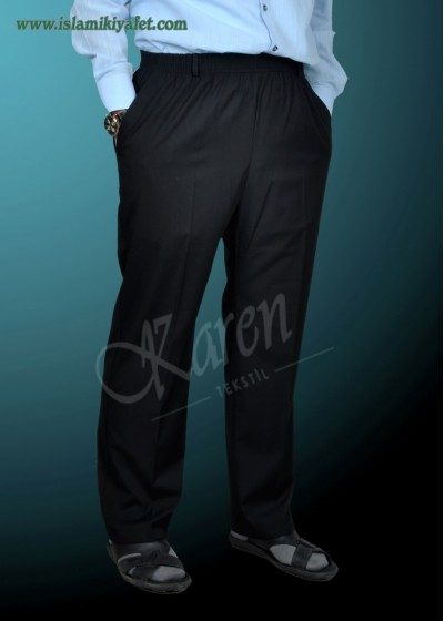 Şalvar Pantolon Laci - Siyah
