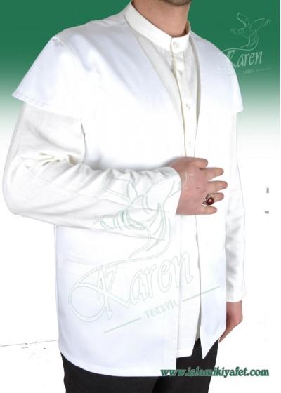Haydariye Yelek (Beyaz)