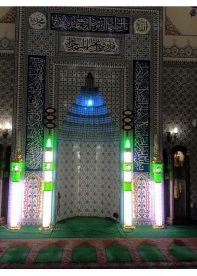 Kudüs Lüks Şamdan (Tek şerefeli)